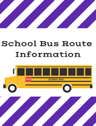 School Bus Route Information